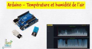 Arduino - Capteur de température et humidité de l'air