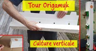 Installation des tours de culture verticale Origamyk