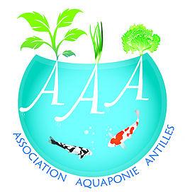 Logo association aquaponie antilles site
