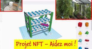 Projet d'extension de ma serre aquaponique avec un système NFT