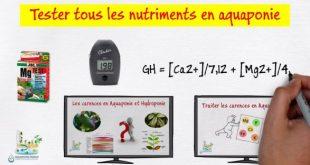 Tester tous les nutriments en Aquaponie
