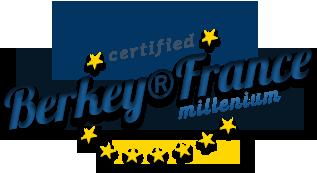 Berkey France Millenium logo